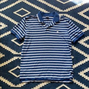 Men's brooks brothers blue striped polo size l